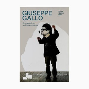Giuseppe Gallo - Vintage Exhiition Poster - Galerie Di Meo - 2008 2008