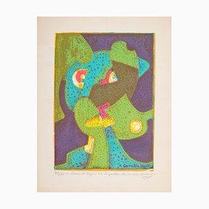 Sous le Signe de Septembre - Original Screen Print by C. Hirtz - 1980 1980
