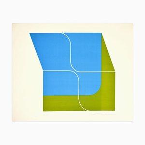 A Fresh Wind - Color Variation - Siebdruck von Shu Takahashi - 1970s 1970s