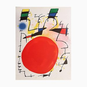 Mirò Lithographe I - Plate III - 1972 1972