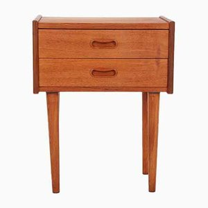 Small Danish Teak Chest of Drawers, 1950s