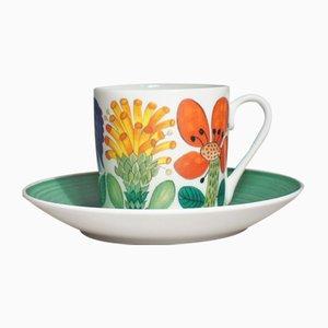 Tahiti Coffee Cups by Stig Lindberg for Gustavsberg, 1971, Set of 2