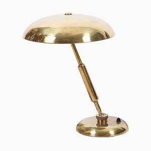Italian Brass Desk Lamp, 1960s