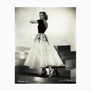 Grace Kelly Archival Pigment Print Framed in White by Bettmann