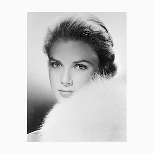 Grace Kelly Archival Pigment Print Framed in Black by Bettmann