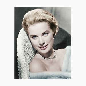Grace Kelly Framed in White by Bettmann