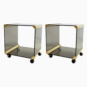George Coffee Tables by Pierangelo Gallotti for Gallotti & Radice, 1970s, Set of 2