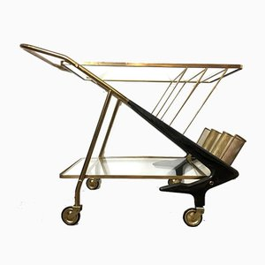 Rosewood Trolley by Ico Parisi, 1950s
