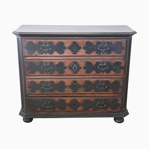 Antique Cherrywood Chest of Drawers, 1680s