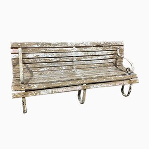 Antique French Garden Bench