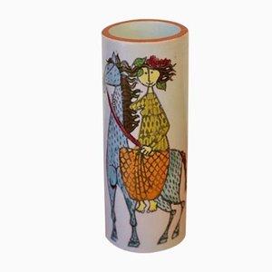 Carnival Vase by Stig Lindberg for Gustavsberg, 1960s