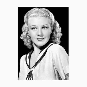 Ginger Rogers Archival Pigment Print Framed in Black