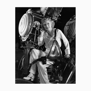 Ginger Rogers on Set Archival Pigment Print Framed in Black by Everett Collection