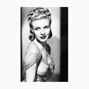 Ginger Rogers Archival Pigment Print Framed in Black by Everett Collection
