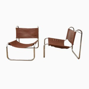 Lounge Chairs by Michel Hamon for Prisunic, 1970s, Set of 2