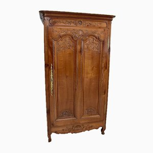 Louis XV Birch Cabinet