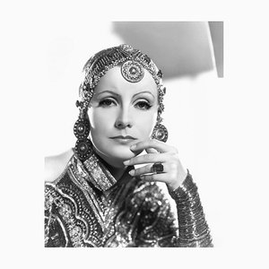 Garbo in Mata Hari Archival Pigment Print Framed in White by Everett Collection