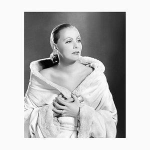 Gorgeous Garbo Archival Pigment Print Framed in Black by Everett Collection