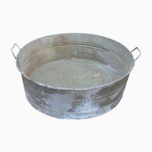 Mid-Century Galvanized Tub