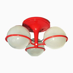 Lampada da soffitto modello 2042/3 di Gino Sarfatti per Arteluce, Italia, anni '70