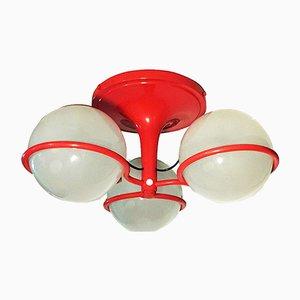 Lámpara de techo modelo 2042/3 italiana de Gino Sarfatti para Arteluce, años 70