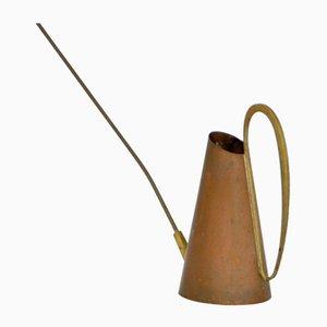Gießkanne aus Messing & Kupfer von Karl Hagenauer, 1950er
