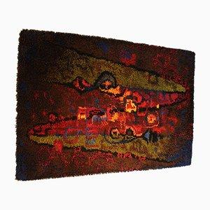 Vintage Sheep Wool Tapestry by Wersentwurf for Vorwerk