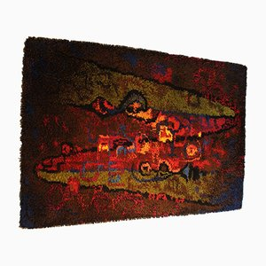 Vintage Wandteppich aus Schafwolle von Vorwerk