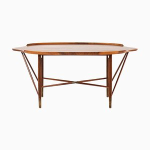 Rosewood Coffee Table by William Watting for Michael Laursen, Denmark, 1950s