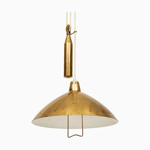 Ceiling Lamp in the Style of Paavo Tynell from Itsu, Finland, 1950s