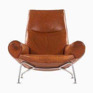 Modell AP47 oder Queen OX Sessel von Hans J. Wegner für AP Stolen, Denmark, 1960er