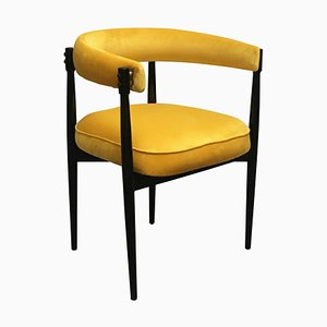 Yellow Armchair from Fratelli Reguitti, 1960s