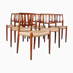 Dining Chairs by Niels Otto Møller, 1960s, Set of 6