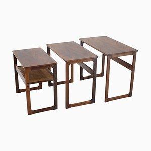 Tables Gigognes en Palissandre par Johannes Andersen pour CFC Silkeborg, 1960s
