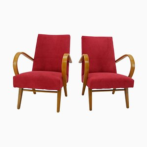 Armchairs by Jaroslav Smidek, 1960s, Set of 2