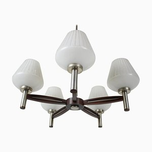 Large Mid-Century German Chandelier, 1970s