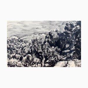 Mediterranean Landscape by Pierre Dionisi, 1930s