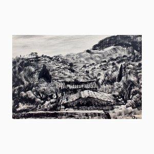 Mediterranean Landscape II von Pierre Dionisi, 1930er