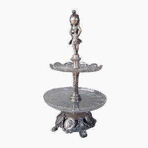 Antique Silver Servant