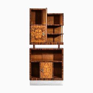 Modernes italienisches Barschrank Bücherregal im Stil von Gio Ponti, 1950er