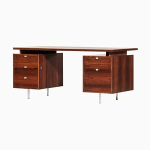 Rosewood Desk by George Nelson for Mobilier International, 1960s