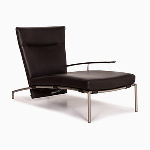 Dark Brown Leather Accuba Lounge Chair by Peter Maly for Cor