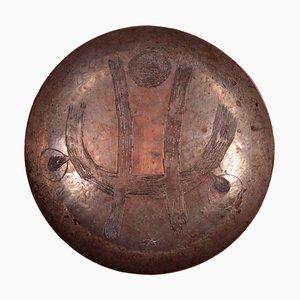 Italian Copper Plate by Renato Vanzelli, 1932
