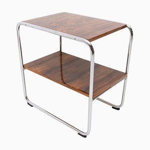 Bauhaus Side Table in the Style of Marcel Breuer, 1930s