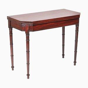 Antique George III Mahogany Tea or Side Table