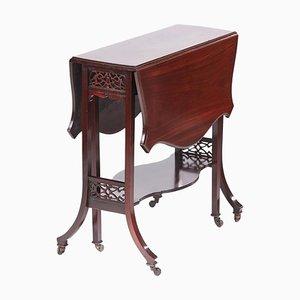 Antiker Sutherland Tisch aus Mahagoni, 1890er