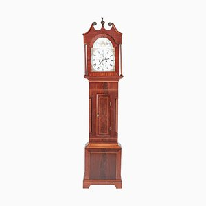 Antique Mahogany 8-Day Longcase Clock