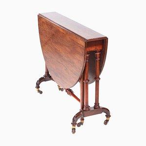 Antique Victorian Walnut Sutherland Table
