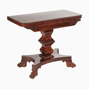 Antique William IV Hardwood Card Table