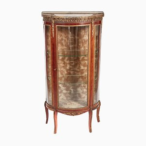 French Mahogany and Gilded Brass Vitrine, 1880s